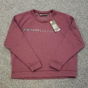 💥 NWT Women's Under Armour sweatshirt size L